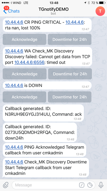 Monitoring / Check_MK | LANbugs